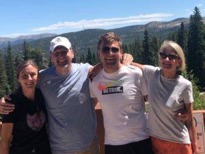 Clay Benson family of four