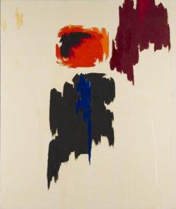 Clyfford Still painting