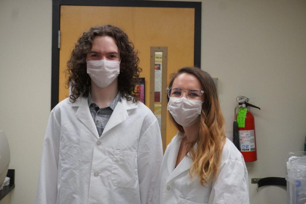 Brayden Smith (left) and Lauren Grabos (right).