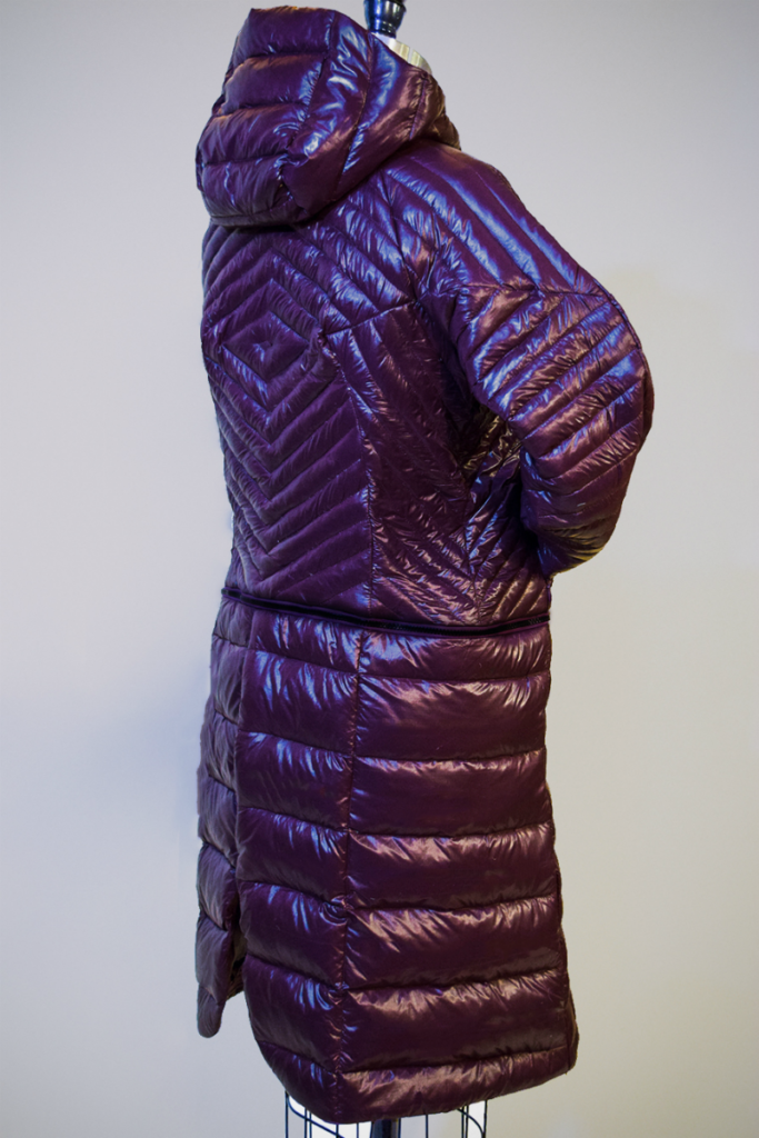 Ice wine Down Parka back view
