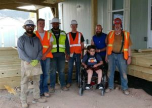 CM Cares Project Team-Mahoney 3rd from left