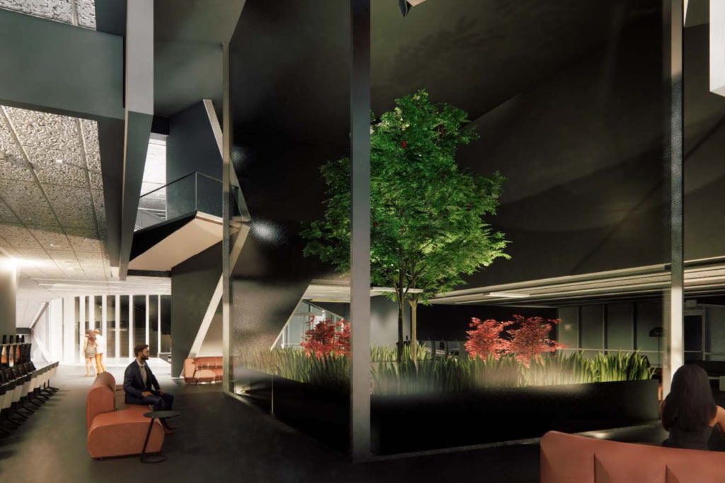 Rendering of Sierre Pugliese's capstone project