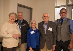 Group photo with the Beitz's and Barry Braun with two additional guests