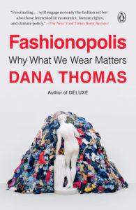 Fashionopolis cover art by Dana Thomas