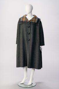 professional photograph of Arnold Scassi Tartan coat