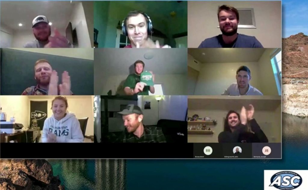 9 participants in online meeting with Preconstruction team member
