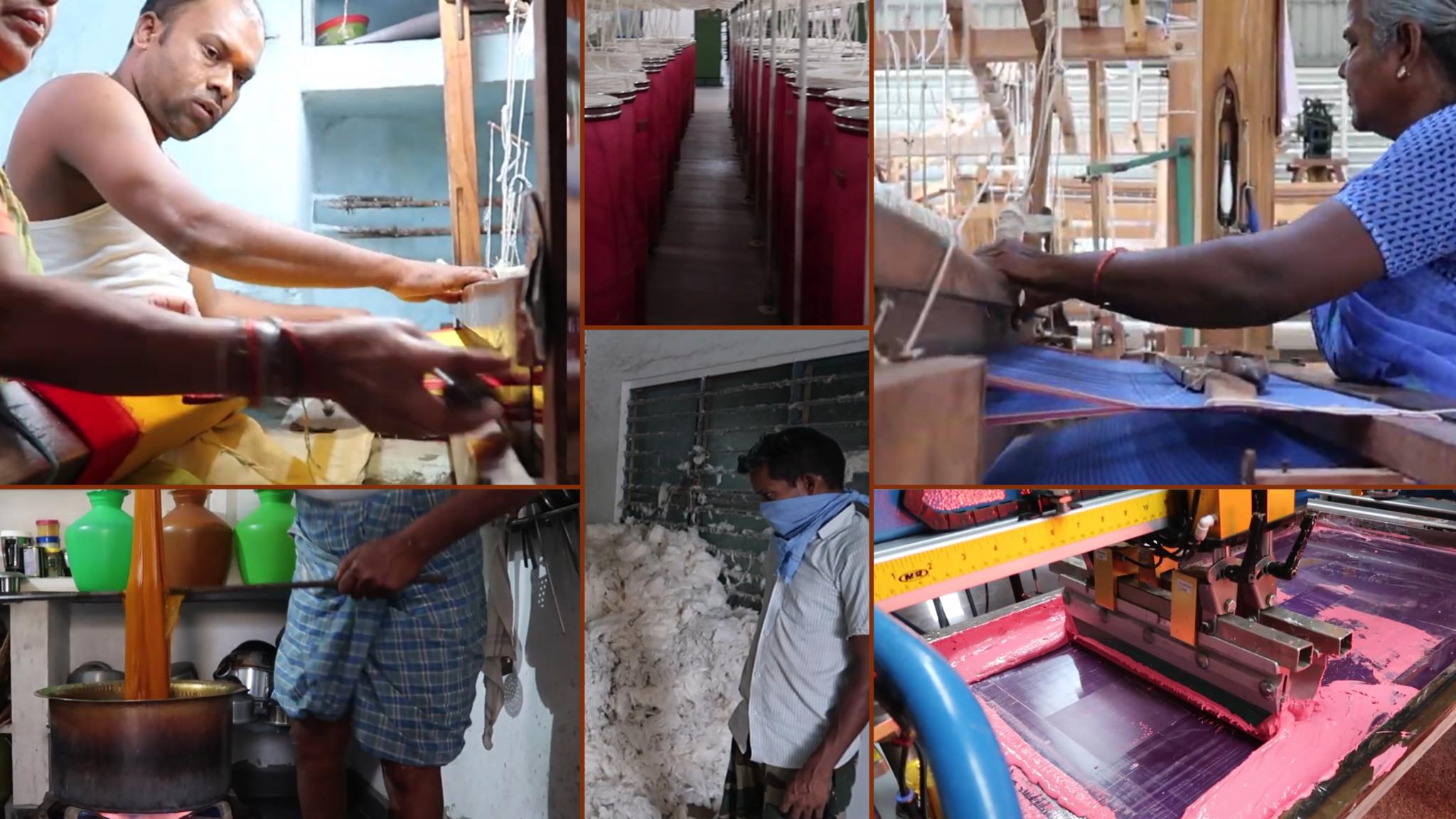 Scenes from ESS alumna Sara Van Hatten's recap video from August 2019 trip to India.