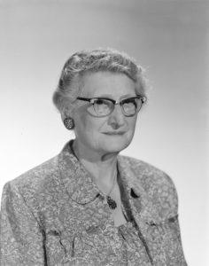 Mary Scott formal portrait