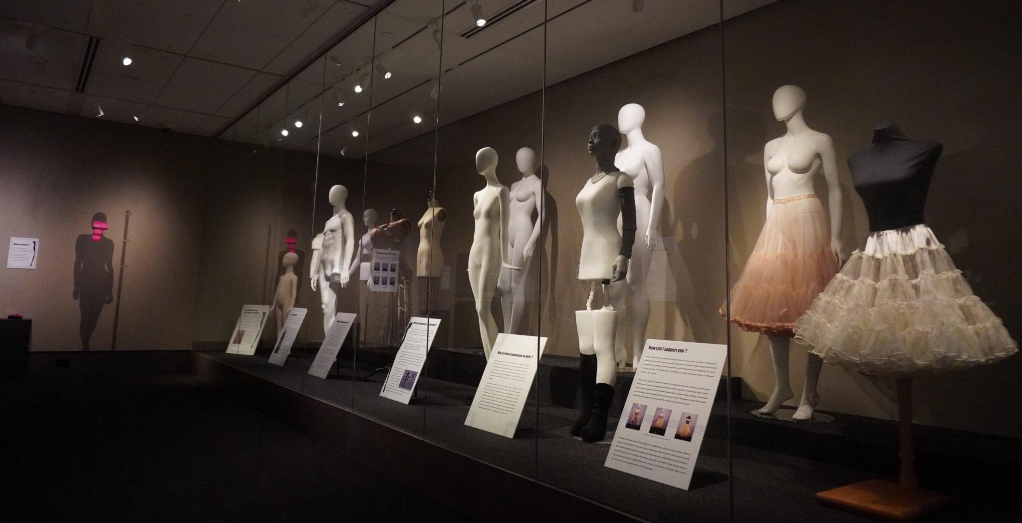 Mannequin exhibit