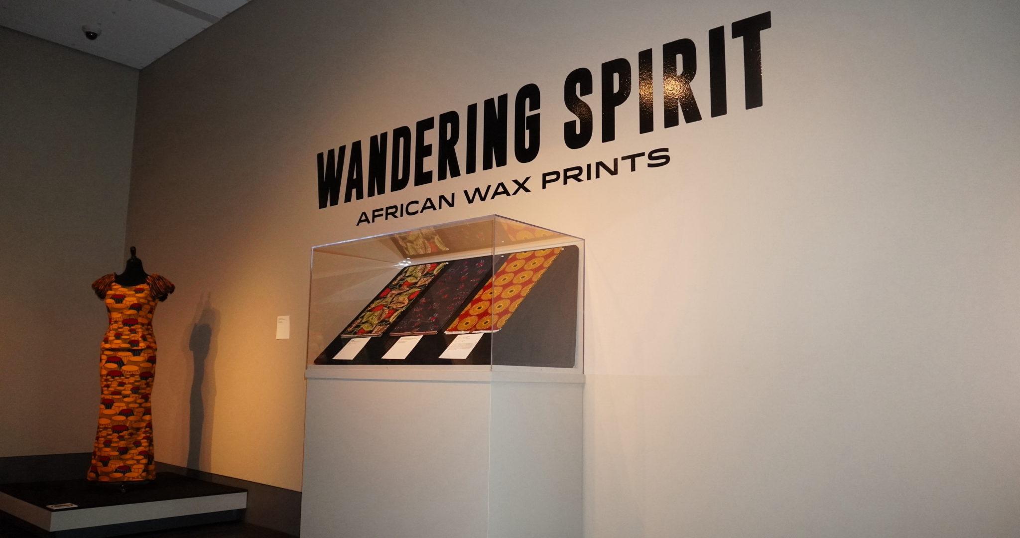 Wandering Spirit exhibit