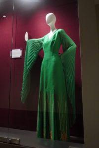 Green evening dress from Greece