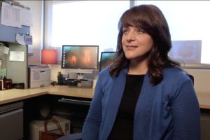 Jen Aberle in her office