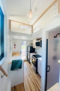 Interior of the Tiny House living space