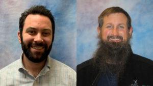 DadSpace facilitators Andrew Frisina and Mike Sebald headshots